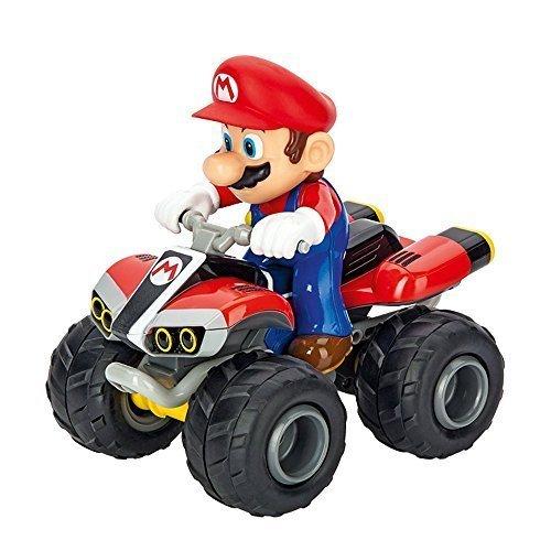 Mario Kart TM 8,  Mario  2,4 GHZ Full Func - Quad - 1:20  - Carrera R/C