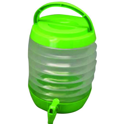 Collapsible Water Carrier With Tap