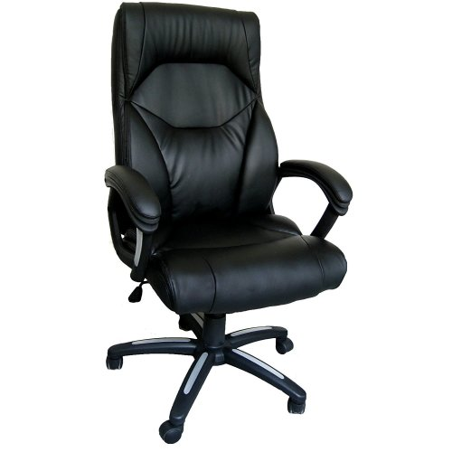 Eliza Tinsley Black Wellington Desk Chair | High Back Executive Chair