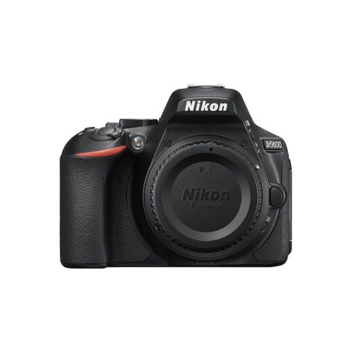 Nikon D5600 24MP DSLR Camera Body Only - Black