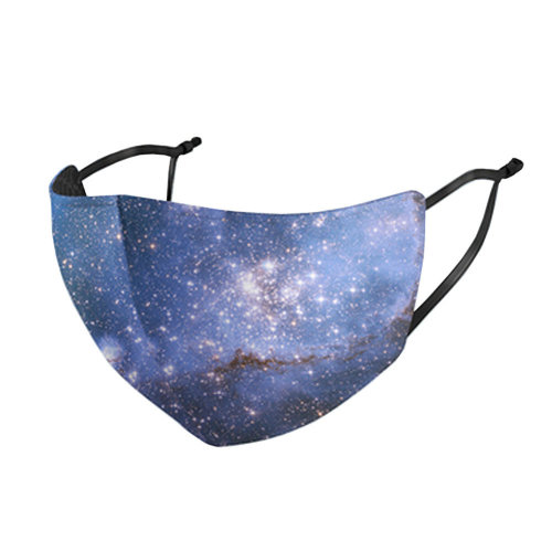 Unisex Mask Beautiful Starry Fashion Dust-proof Mask  Mouth Face Mask Summer Sunscreen Breathable,#2