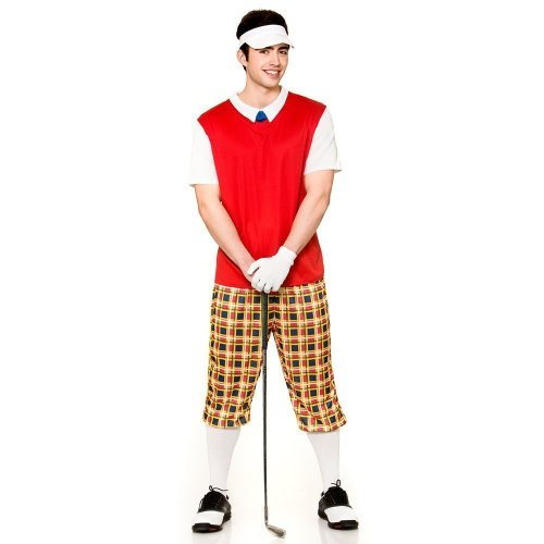 Funny Pub Golfer Fancy Dress Costume