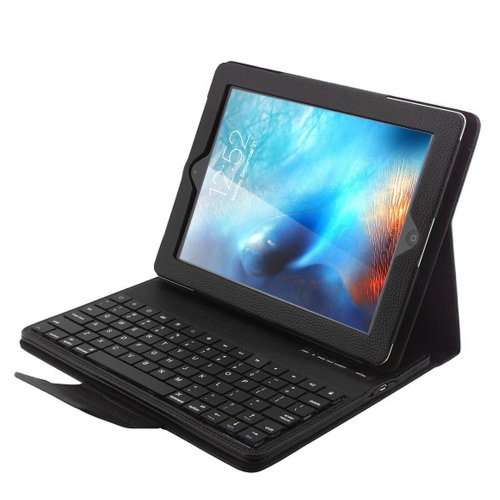 iPad 9.7 2017/iPad Pro 9.7 Keyboard -PEMOTech [New Detachable Version]