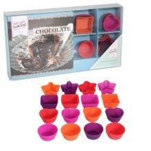 Get Baking Chocolate Recipe Book Gift Set In Gift Box. - Lets Cutters Mini -  lets get baking chocolate recipe book cutters mini gift set