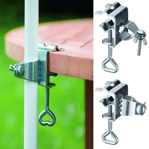 Adjustable Table Balcony Umbrella Clamp