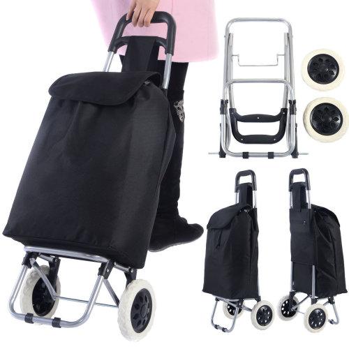 Folding Shopping Trolley Cart Bag Wheeled Luggage