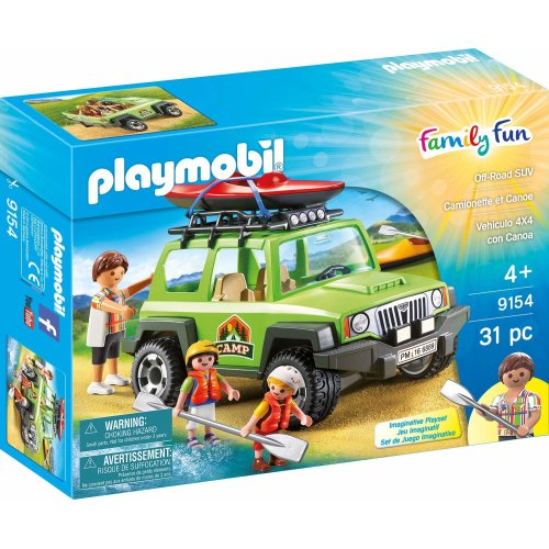 Playmobil 9154 Leisure Camp Off-Road Vehicle