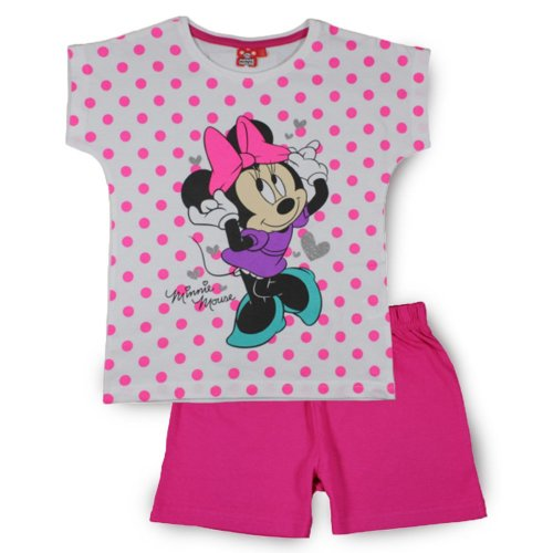 Minnie Mouse Short Pyjamas - Pink