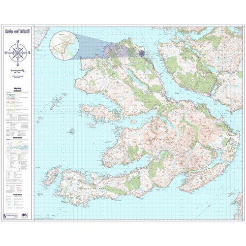 Isle of Mull Map