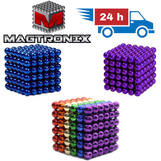 216 Magnetic COLOURED BALLS | MagTronix Neodymium