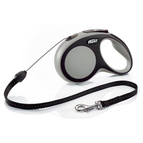 Flexi Cord Leash New Comfort Size S 8 m Grey 21311