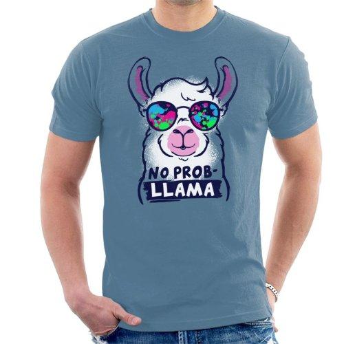 No Prob Llama Men's T-Shirt