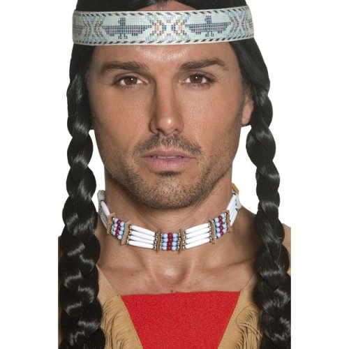 White Native American Choker