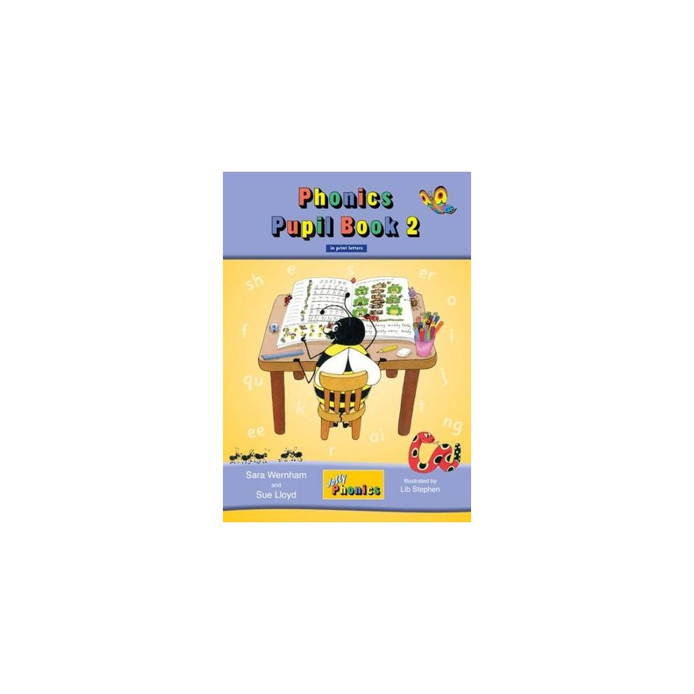 Jolly Phonics Pupil Book 2 (colour edition): in Print Letters (British  English ...