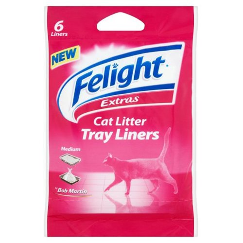 Bob Martin Cat Litter Liners Medium 6pk (Pack of 13)