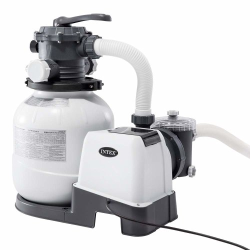 Intex Krystal Clear 2100 GPH Pool Sand Filter Pump