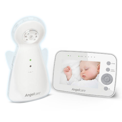 """Angelcare AC1320 Digital Video and Sound 3.5"""" Screen Baby Monitor"""