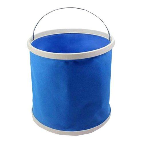 Foldable EVA Fishing Bucket Compact Portable Car-Washing Bucket