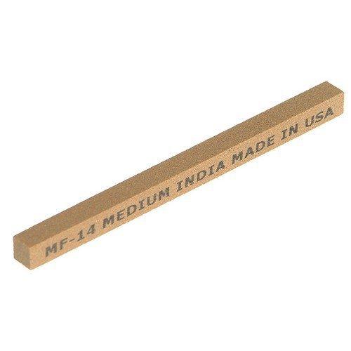 India 61463686070 MF14 Square File 100mm x 6mm - Medium