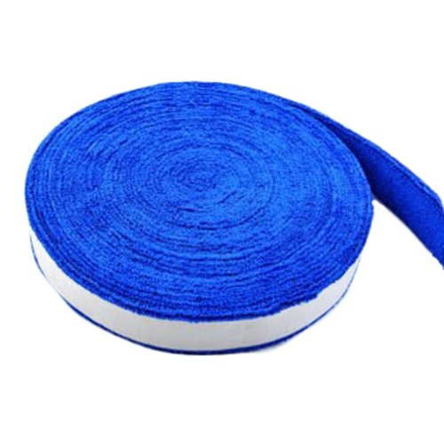 Badminton Crank Handle - Tennis, Badminton Hand Gel  Towel -- Blue