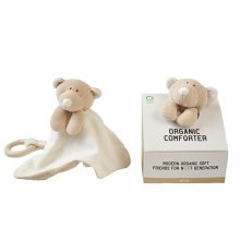 Wooly Organic Comforter Teddy with teether ring