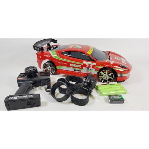 Ferrari F430 GTR STYLE 4WD Radio Control RC Drift Car Model Toy Racer