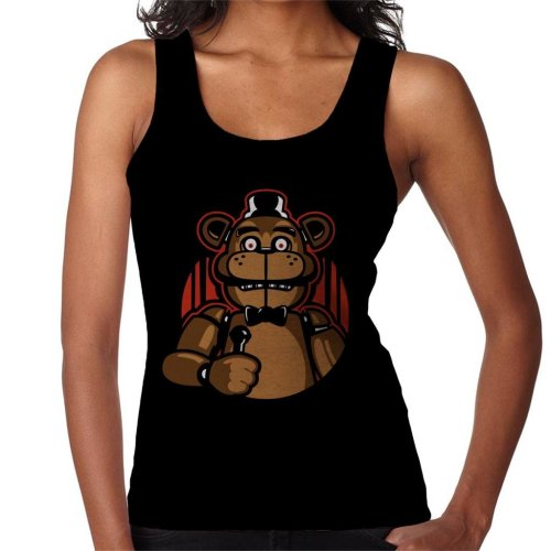 Sing With Me Five Nights At Freddys Women's Vest