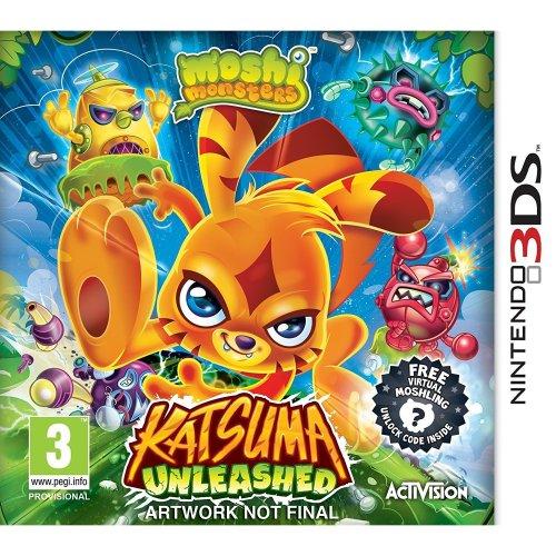 Moshi Monsters Katsuma Unleashed Nintendo 3ds Game