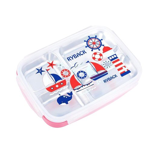Stainless Steel Lunch Box Fashion Students Lunch Box