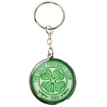 Celtic Crest Key Ring - Multi-colour - Key Fc Football Club Official Metal Gift -  celtic keyring fc football club official metal gift crest new