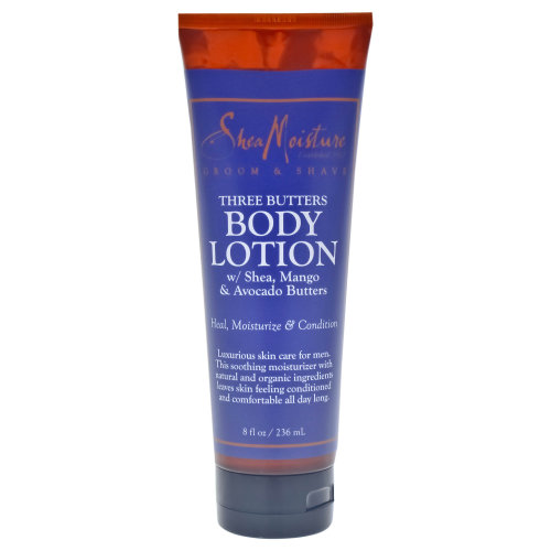 Three Butters Lotion - Dry Skin by Shea Moisture for Men - 8 oz Lotion