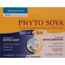 Arkopharma Arkocaps Phyto Soya Night & Day 60 Capsules