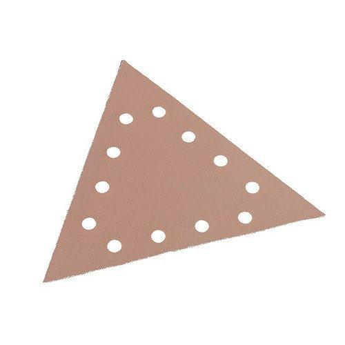 Flex Power Tools 349.24 Sanding Paper Hook & Loop Triangle 120 Grit Pack of 25