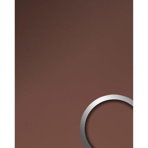 WallFace 19604 Bronze matt Wall panel metal look matt bronze 2.6 sqm
