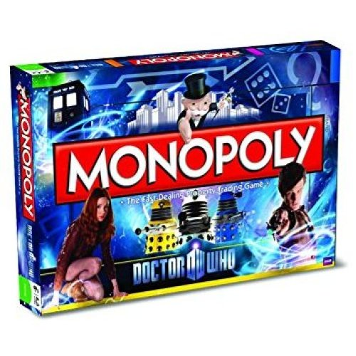 Doctor Who Edition 2011 Monopoly Family Board Game Brand New Sealed