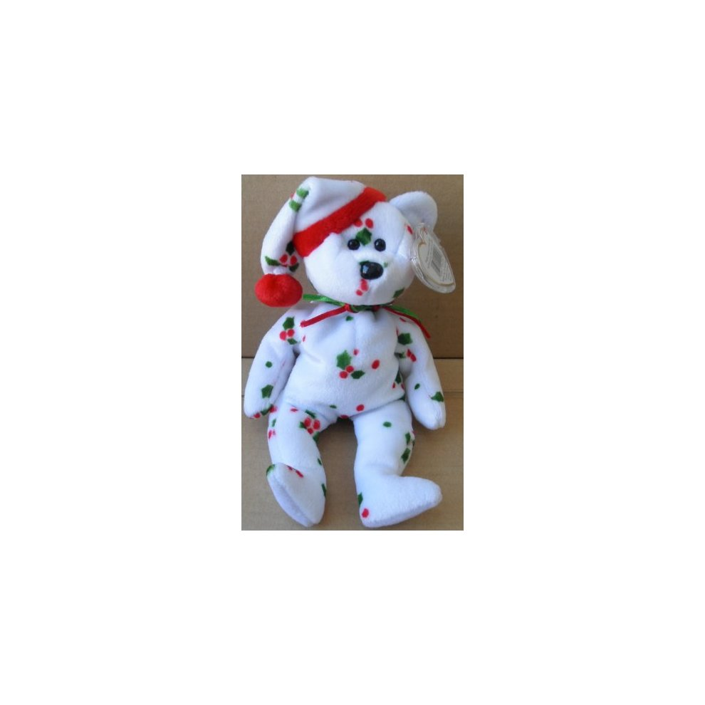 4ee4570ccdc TY Beanie Babies 1998 Holiday Teddy Bear Plush Toy Stuffed Animal on ...