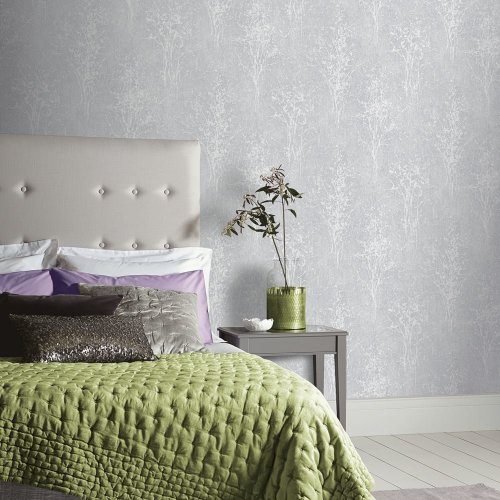 Arthouse Floresta Floral Pattern Wallpaper Botanical Glitter Motif Vinyl 292701