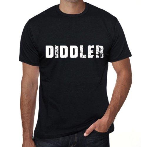 diddler Mens Vintage T shirt Black Birthday Gift 00555