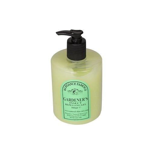 Famous Gardener's Insect Gel 500ml with Neem Oil, a natural insect repellant