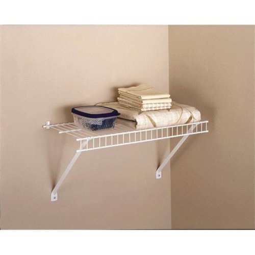Rubbermaid 5210RM 24 x 12 in. Linen Shelf Kit
