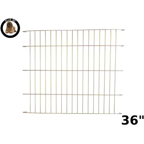Ellie-Bo Gold Divider for 36 inch Large Dog Crate Cage