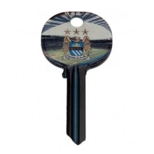 Manchester City Key Blank - Door Fc Official Football Gift -  city manchester key door fc official football blank gift