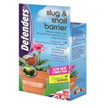 Slug & Snail Barrier Copper Tape - Defenders 4m -  slug snail barrier tape defenders 4m copper