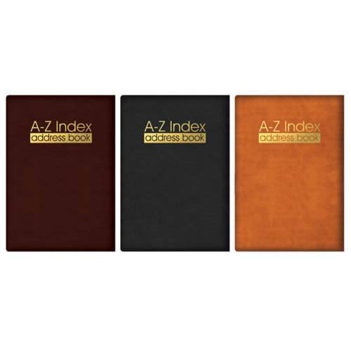 Pocket Address Book A-Z Index Executive Padded Telephone Directory Home Office