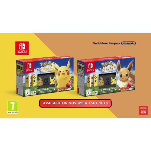 Nintendo Switch Pokemon Bundle Edition PRE-ORDER