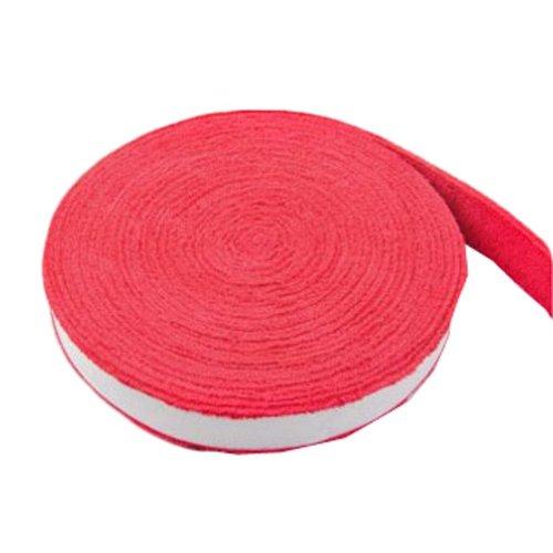 Badminton Crank Handle - Tennis, Badminton Hand Gel  Towel -- Red