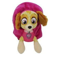 Paw Patrol Plush Children's Backpack, 31 Cm, 10 Liters, Multicolor Paw007001 -  plush backpack paw patrol skye soft bag pink new girls school