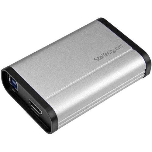 StarTech.com USB 3.0 Capture Device for High-Performance HDMI Video - 1080p 60fps - Aluminum