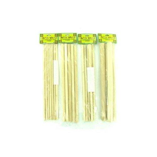 Wooden Dowel Craft Sticks - Pack of 48