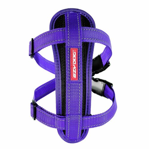 EZY-DOG  CHESTPLATE HARNESS (PURPLE)